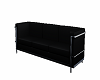 Couch Blk / Chrome