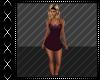 Purple Zebra Dress