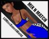 Mix N Match Blu Cow ATop