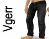 Sexy Black Denim Jeans