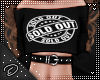 !D! Sold Out Top Black