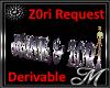 Z0ri Seat Request