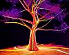 Neon Fairy Tree Room
