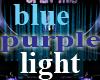 blue purple light swirl