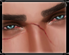 * Piercing Blue Eyes