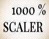 Avatar 1000 % Scaler