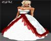 *E4U*White Red Dress