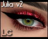 LC Julia Flirty Ruby Red