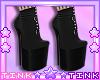 Black - White Boots