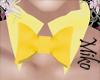 bunnygirl collar yellow