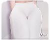 Mun   White L Pants