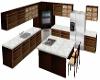 [BB] brown kitchen