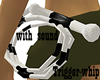 B&W Whip with sound