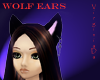 Wolf ears Black with key