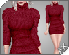 ~AK~ Fall Sweater: Berry