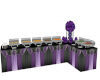 purple buffet