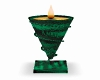 Emerald Candle of Thoth
