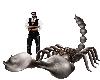 Scorpion Statue