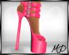Pink Strap Heels