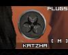 .K BioHazard1 Plugs |M