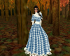 Blue southernBell Gown