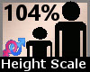 Scale Height 104% F A
