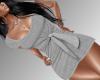 Summer Dress-Grey