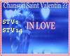 Chanson Saint Valentin