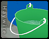 :Green w Water Bucket