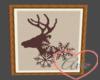 Picture Deer/Snowflakes