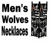 Men's Wolves Necklaces