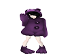Purple Bear Outfit