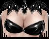 [DM] Black PVC Top