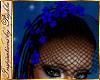 I~Cascade Veil*Royal Blu