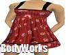 Red Daisy Dress