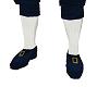 Pilgrim Blue Shoes/Socks