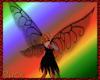 Crystal fae wings - blk