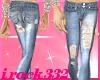 [irk]Torn LHT Blue Jeans