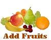 .S. Add Fruits