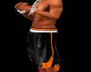 Blk/Orange Jordan Shorts