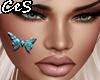 Facepaint-Blue Butterfly