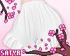 Ruffle Shorts White