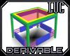 [luc]D Modern End Table