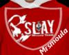 Slay Hoodie Red
