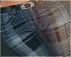 Fall Plaid Jeans Rls