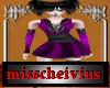 babydoll purple dress