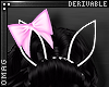 0 | Large Bow Bunny Ears