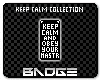 Obey Your Master BADGE