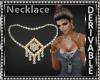Square Diamond Necklace