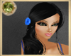 !]J[Black Ilene blue flo